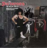 "Dictators- Next Big Thing 10"" (Andrew WK Remix With Bonus Track) (Black Friday 2015 Record Store Day Release) (Sale price!)"