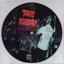 Toxic Narcotic- Beer In The Shower picture disc 7""
