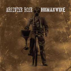 Absinthe Rose / Humanwine- Split LP (Brown Vinyl)