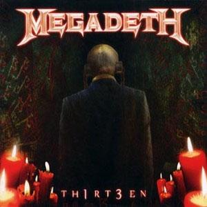 Megadeth- Thirt3en 2xLP (180gram Vinyl)