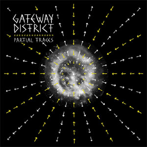 "Gateway District- Partial Traces 12"" (1 Sided record, B-Side is screen printed) (Sale price!)"