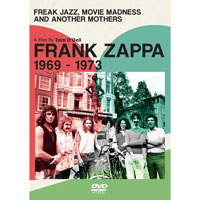 Frank Zappa- Freak Jazz, Movie Madness & Another Mothers DVD (Sale price!)