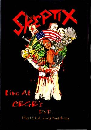 Skeptix- Live At CBGB's Plus 2003 Tour Diary DVD (Sale price!)