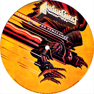 Judas Priest- Screaming For Vengeance LP (Special 30th Anniversary Pic Disc 180gram Vinyl)