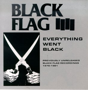 Black Flag- Everything Went Black 2xLP