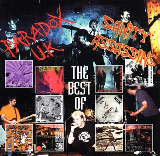 Paradox UK / Sanity Assassins- The Best Of CD (Sale price!)