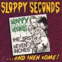 "Sloppy Seconds- The First 7""s And Then Some LP (Red Vinyl)"