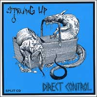 Direct Control/Strung Up- Split CD (Sale price!)