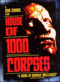 House Of 1,000 Corpses DVD (Sale price!)
