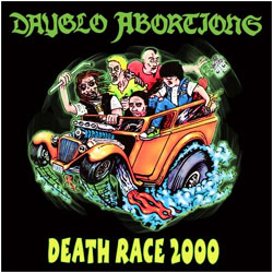 Dayglo Abortions- Death Race 2000 LP (Color Vinyl) (Import)