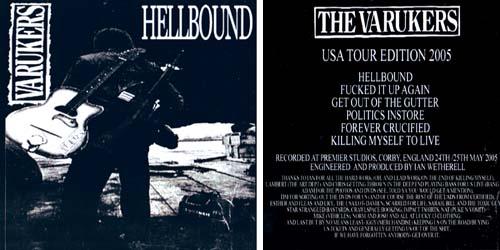 Varukers- Hellbound CDEP (Sale price!)