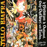 Jello Biafra- If Evolution Is Outlawed Only Outlaws Will Evolve 3xLP (Spoken word album #5) (Sale price!)