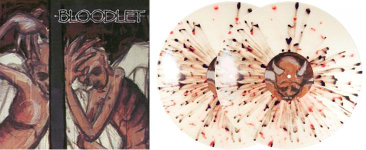Bloodlet- Entheogen 2xLP (Clear Splatter Vinyl)