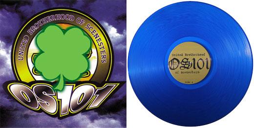 OS101- United Brotherhood Of Scenesters LP (Blue Vinyl)