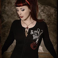 Be Still My Heart Cardigan by Se7en Deadly