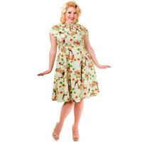 Heartbreaker Mandarin Retro Style Plus Size Dress by Banned Apparel - SALE sz 4X only