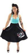 Full Atomic 1950's Skirt by Dressed To Kill - SALE sz XL only