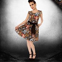 Date With a Zombie Dress by Folter - SALE