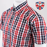 Vintage Button Down Shirt by Warrior Clothing- FERDY