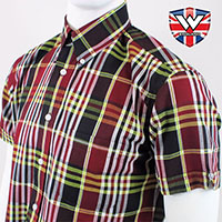 Vintage Button Down Shirt by Warrior Clothing- JIMMY