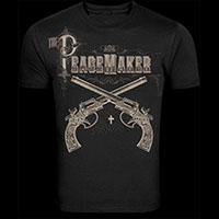 Peacemaker Guys Pistol t-shirt by Se7en Deadly