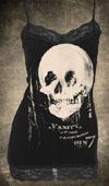 All Is Vanity Cami Skull Tank Top by Se7en Deadly