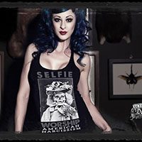 Selfie Worship Racer Back Tank Top by Se7en Deadly - SALE