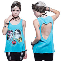 Star Crossed Tank by Iron Fist - SALE sz XS only