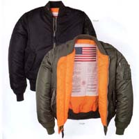 MA-1 Blood Chit Flight Jacket by Alpha Industries (Sale price!)