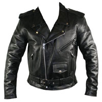 Biker Jacket by Angry Young And Poor- Black Vegan