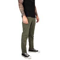 Delgado Skinny Straight Leg Pants by Brixton- OLIVE (Sale price!)