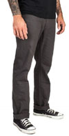 Reserve Twill Slim Straight Leg Pants by Brixton- CHARCOAL (Sale price!)