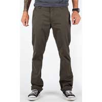 Toil Slim Fit Chinos by Brixton- OLIVE - SALE sz 28 only