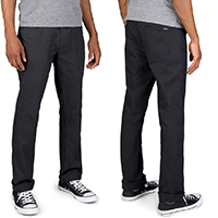 Reserve Standard Fit 5 Pocket Jean by Brixton- BLACK sz 28 & 38 only