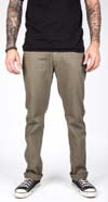 Reserve Twill Slim Straight Leg Pants by Brixton- GREEN (Sale price!)