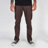 Toil Slim Fit Chinos by Brixton- BROWN (Sale price!) sz 28 only
