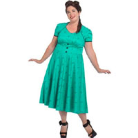 Plus Sized Martini Flare Dress by VooDoo Vixen - SALE
