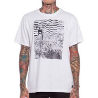 Lo Fi on a white guys slim fit shirt by Iron Fist  - SALE