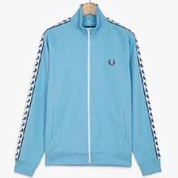 Fred Perry Laurel Track Jacket- ALASKAN BLUE (Sale price!)