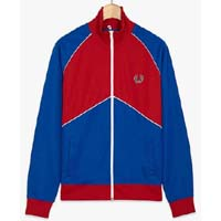 Fred Perry Chevron Track Jacket- REGAL (Sale price!)