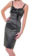 Pucker Up Bow Dress by Lucky 13 - SALE Olive 2X only