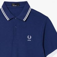 Fred Perry 2014 World Cup Polo Shirt- JAPAN (Cobalt Blue)