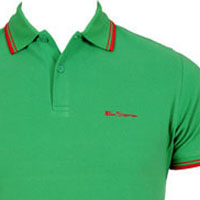Romford Polo (Script Logo) by Ben Sherman- JELLY BEAN (Sale price!)