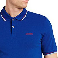 Romford Polo (Block Logo) by Ben Sherman- ROYAL BLUE - SALE sz XS only
