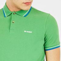 Romford Polo (Block Logo) by Ben Sherman- BRIGHT GREEN (Sale price!)