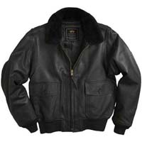 G-1 Leather Jacket by Alpha Industries