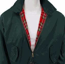 Harrington Jacket by Warrior Clothing- BRITISH RACING GREEN