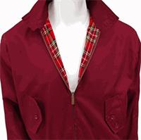 Harrington Jacket by Warrior Clothing- MAROON