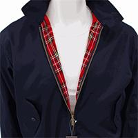 Harrington Jacket by Warrior Clothing- NAVY