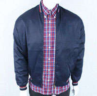 Monkey Jacket by Warrior Clothing- NAVY (Sale price!)